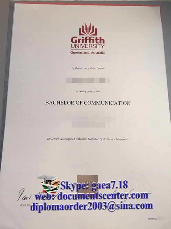 Griffith University degree, buy Griffith University diploma | buy ...