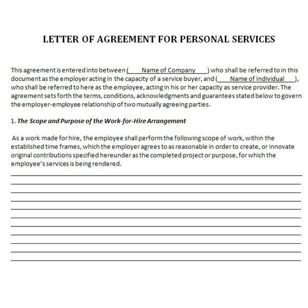 Agreement Letter 2016 | custom-college-papers