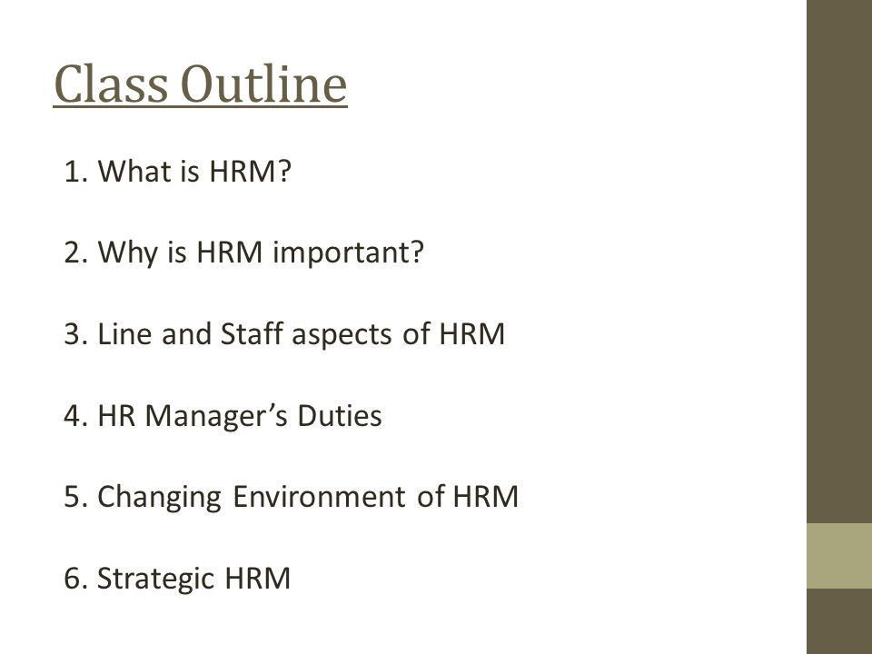 MGT 301 Chapter 1: Introduction to Human Resource Management ...