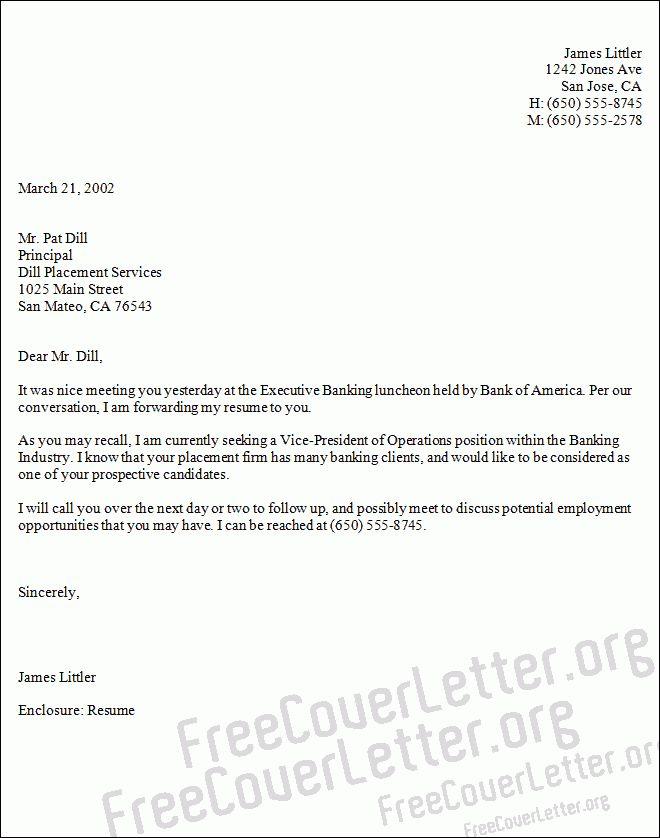 President of Operations Cover Letter Sample