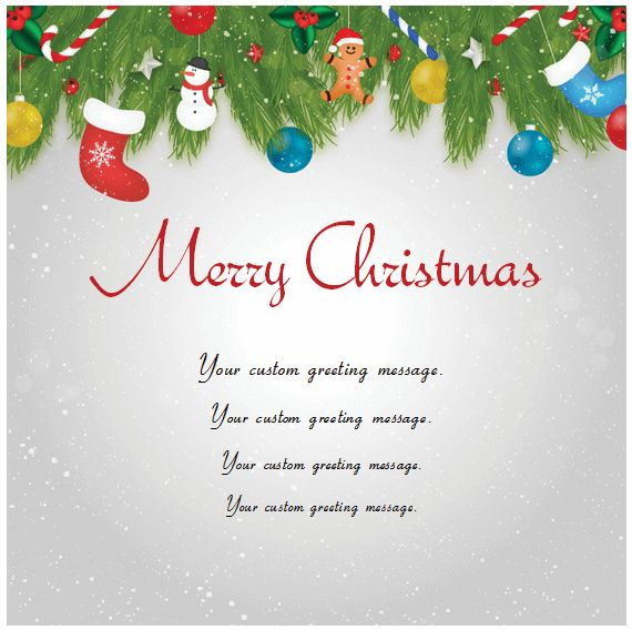 Christmas Card Templates - Templates for Microsoft® Word
