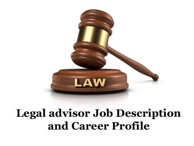 Lawyer Job Description. Legal Advisor Job Description And Career ...