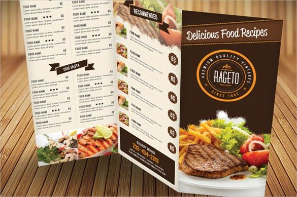 Catering Menu Template – 32+ Free PSD, EPS Documents Download ...