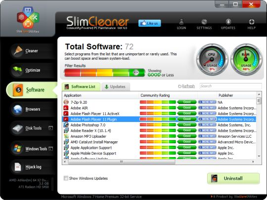SlimCleaner Free - Free download and software reviews - CNET ...