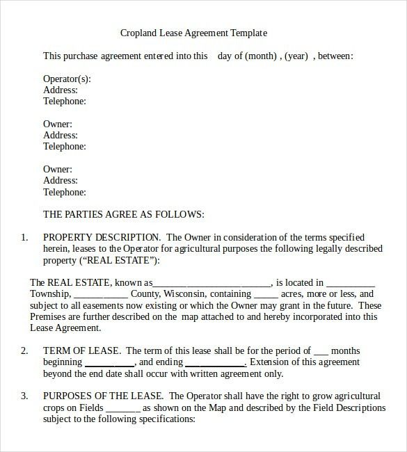 Rental Agreement Templates – 14+ Free Word, PDF Documents Download ...