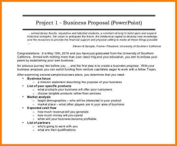 Business Proposal Format Doc - Unitedijawstates