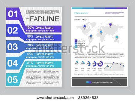 Creative Brochure Template Design Abstract Vector Stock Vector ...