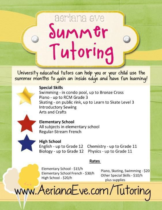 14 best tutoring images on Pinterest | Flyers, Classroom ideas and ...