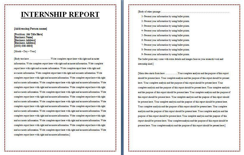 Performance Reports | Free Report Templates