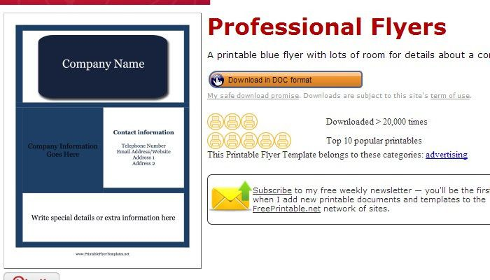 3 Pressure Washing Flyer Templates | AF Templates