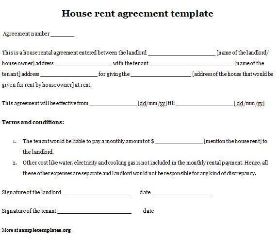 rental contract sample - thebridgesummit.co