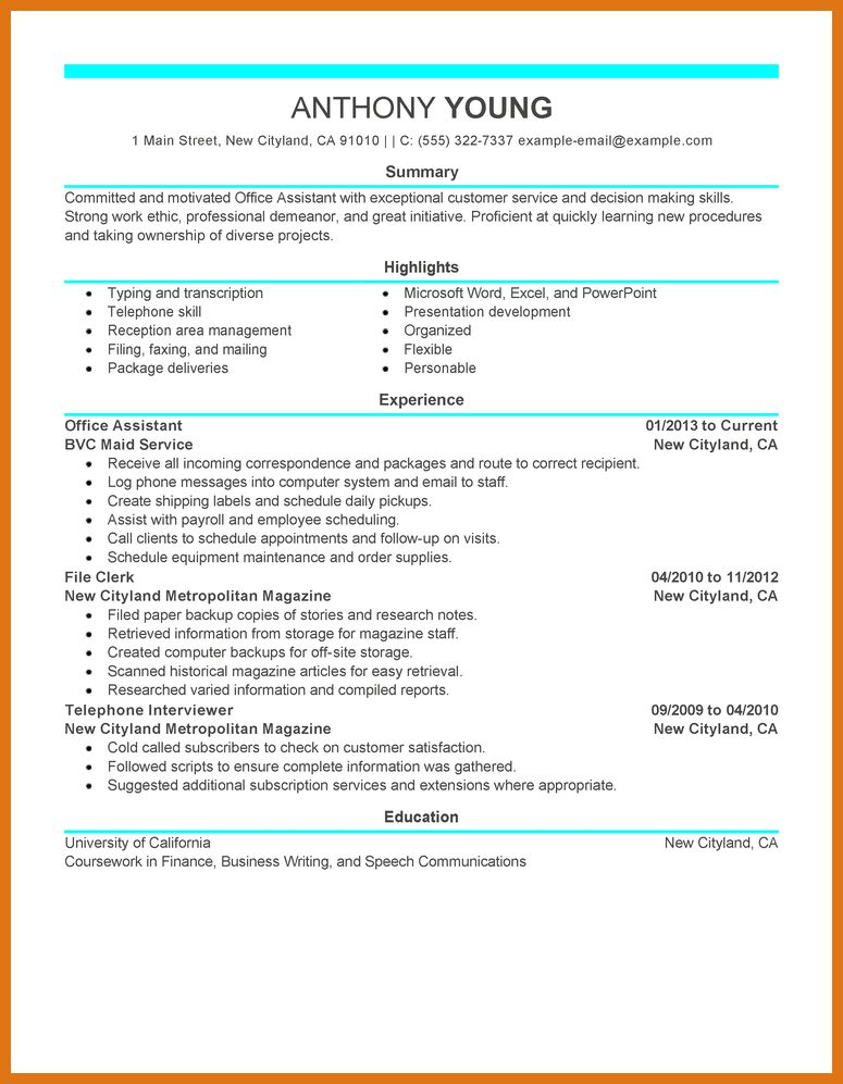 resume examples writing modern resume resume example modern resume ...