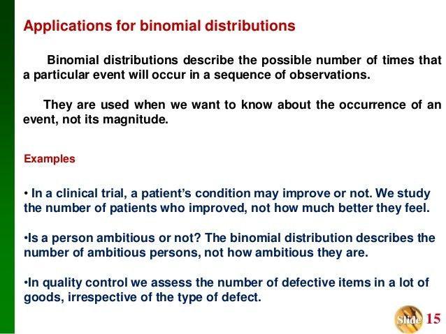 Binomial probability distributions ppt