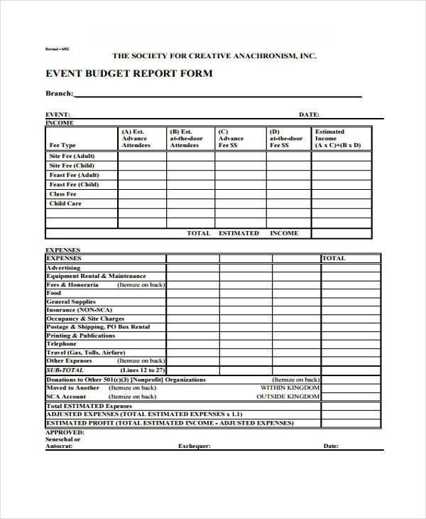 27 Free Expense Report Forms