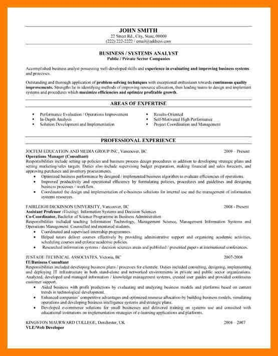 business analyst resume sample ilivearticlesinfo. bright and ...