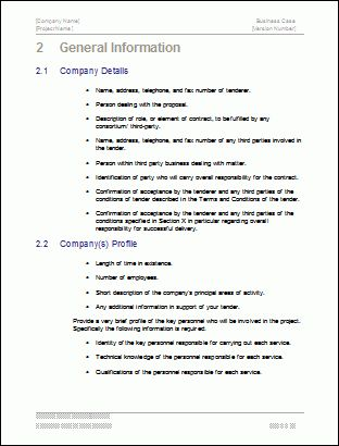 Outline of a business plan pdf. How write a report