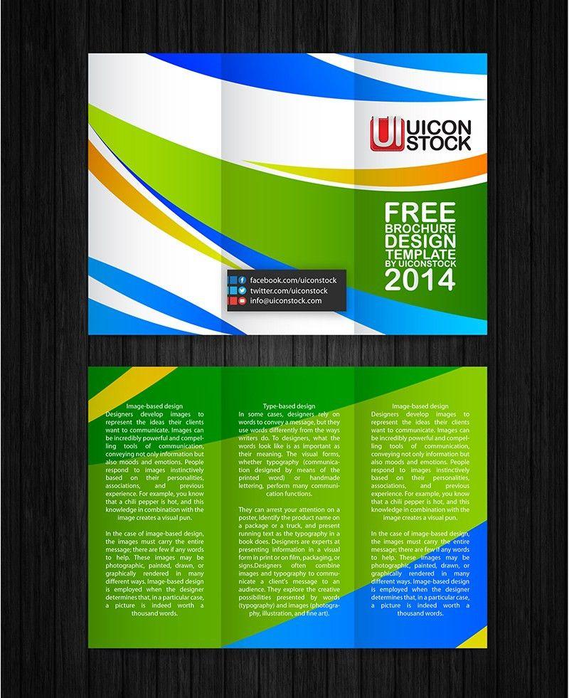 Free Printable Brochure Design Template