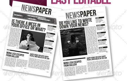 35+ Best Newsletter Templates - Tutorial Zone