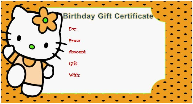 Style Gift Certificate (For Kids)