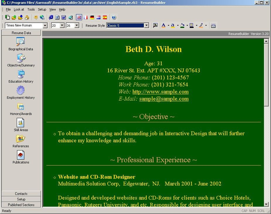 free cv maker download cv maker for windows individual software ...