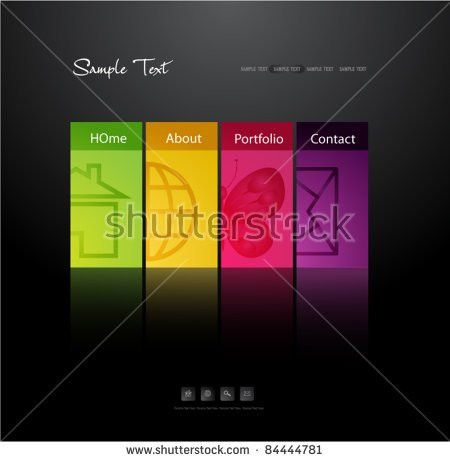 Web Template Stock Images, Royalty-Free Images & Vectors ...