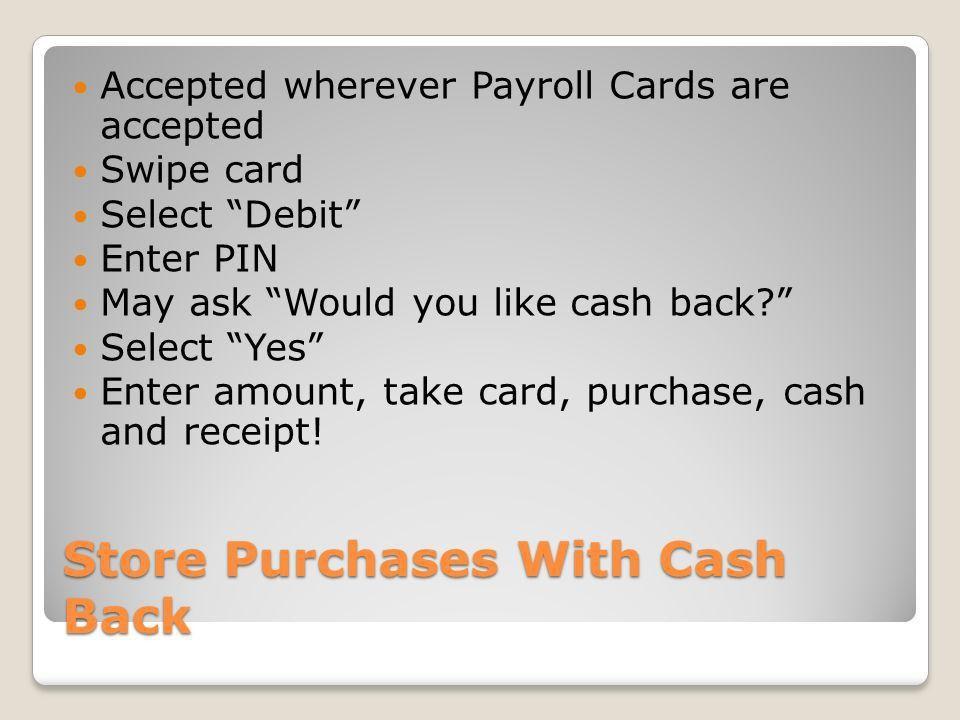 DOE OPSR Program Payroll Training. Payroll Cards: 101 All ...