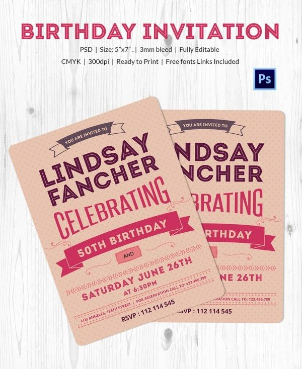 Birthday Card Template - 35+ PSD, Illustrator, EPS Format Download ...