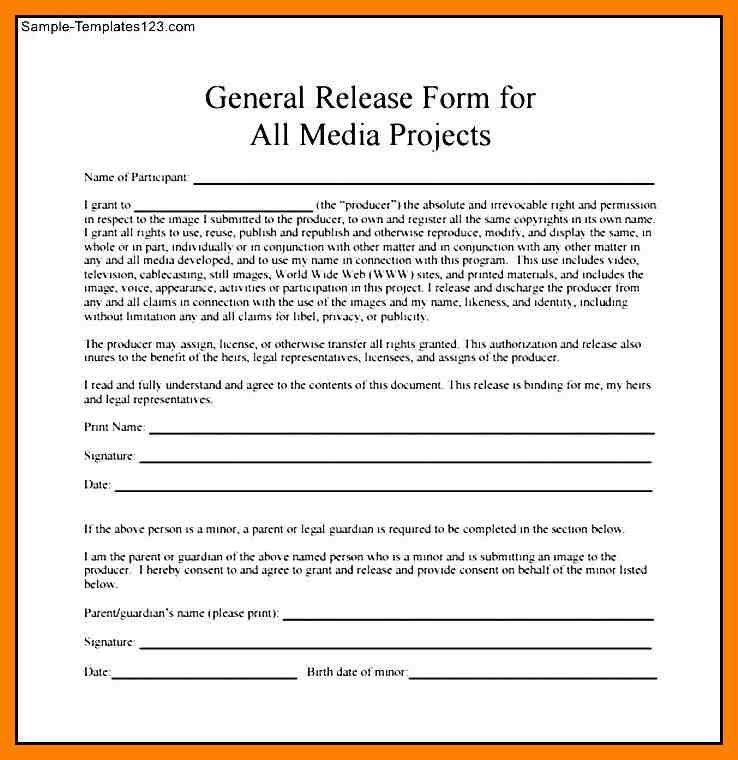 8+ media release form template | protect letters