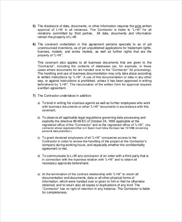 Confidentiality Agreement Template. Confidentiality Agreement ...
