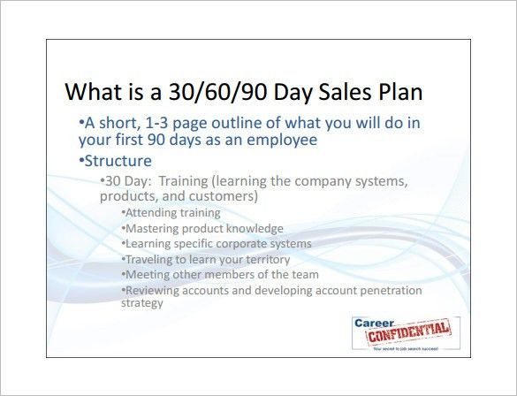 Sales Action Plan Template – 7+ Free Sample, Example, Format Free ...