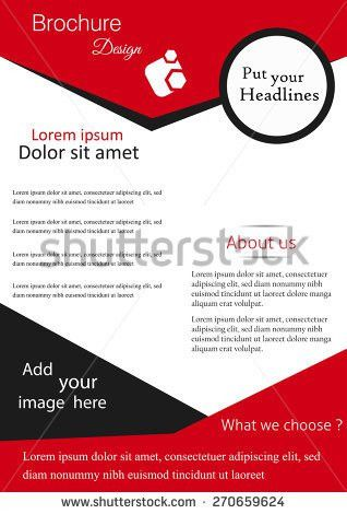 Vector Flyer Brochure Magazine Cover Template Stock Vector ...