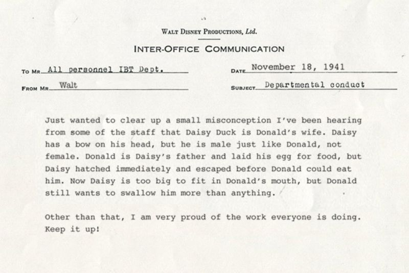 Disney Fans Rejoice! Newly Discovered Letters Fro...   ClickHole