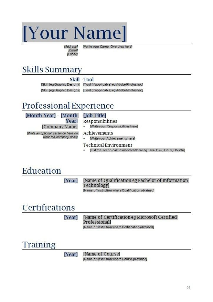 Resume For Free | health-symptoms-and-cure.com