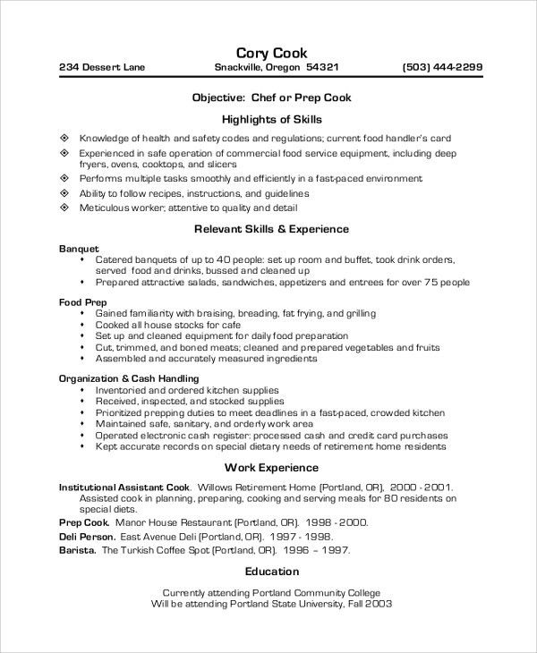 sous chef resume samples chef resume examples executive resume cv