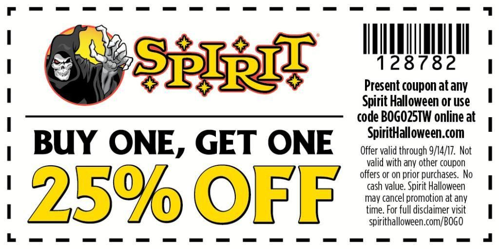 "Spirit Halloween on Twitter: ""Last day for this sweet deal! Hurry ..."
