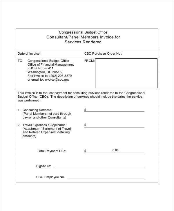 37+ Invoice Templates in PDF   Free & Premium Templates
