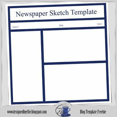 Free Newspaper Template | cyberuse