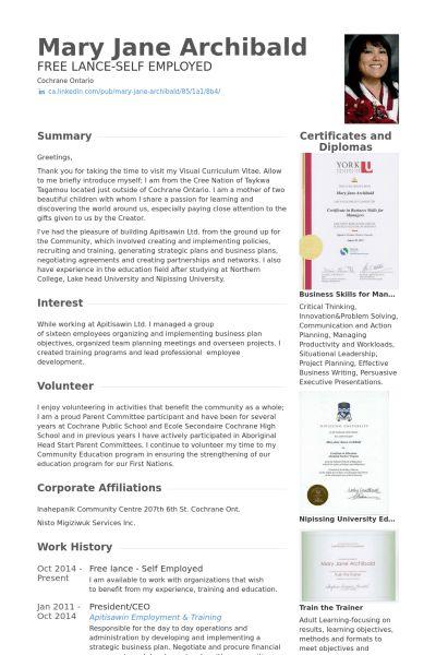 Winsome Ideas Self Employed Resume 6 Self Employed Resume Template ...