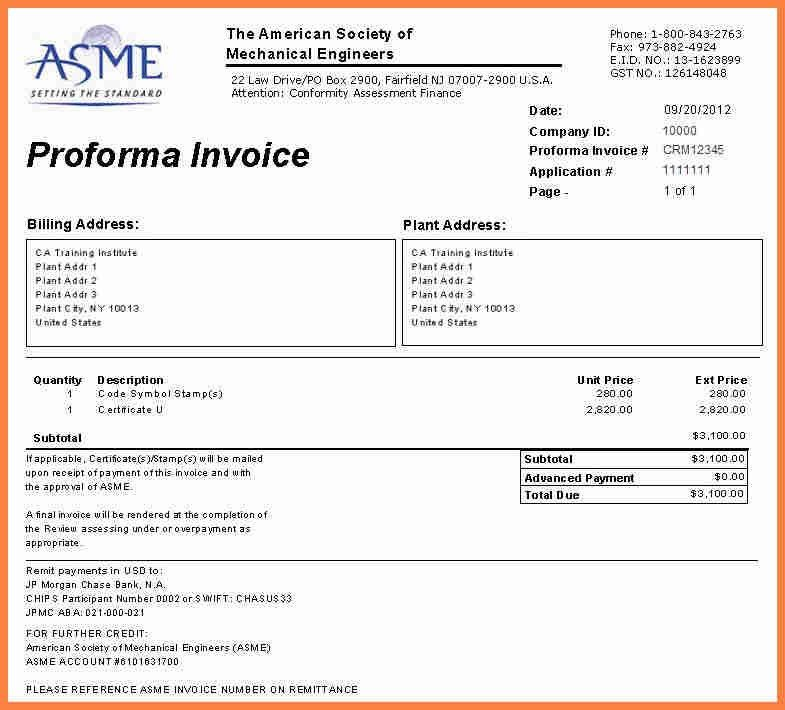 6+ sample letter request for proforma invoice | Invoice Example 2017