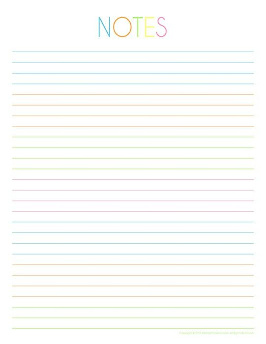 college ruled lined paper template | Crafts | Pinterest | College ...