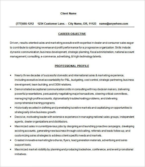 Consultant Resume Template U2013 9+ Free Samples, Examples, Format .