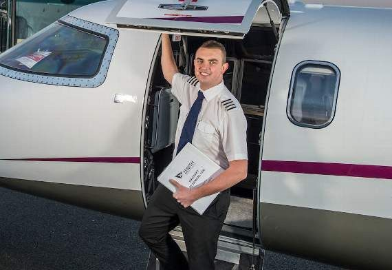 Jamie lands dream first officer job at Biggin Hill airport | News ...