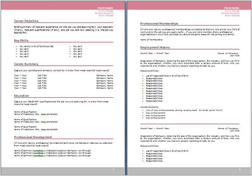 Ideas Collection Sample Of Resume In Australia On Service ...