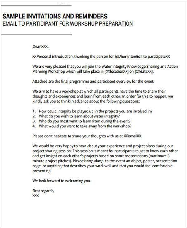 7+ Workshop Invitation Templates - Free Editable PSD, AI, Vector ...