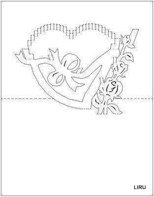 206 best Picasaweb Pop up cards and Templates from Kirigami book ...