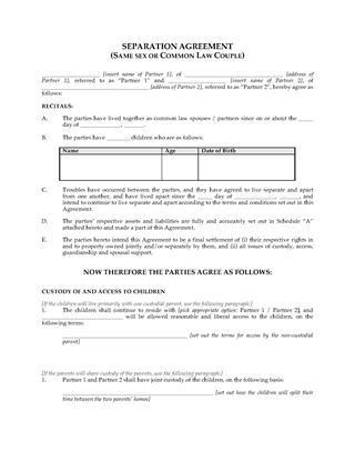 Marriage and Family Law Forms | Legal Forms and Business Templates ...