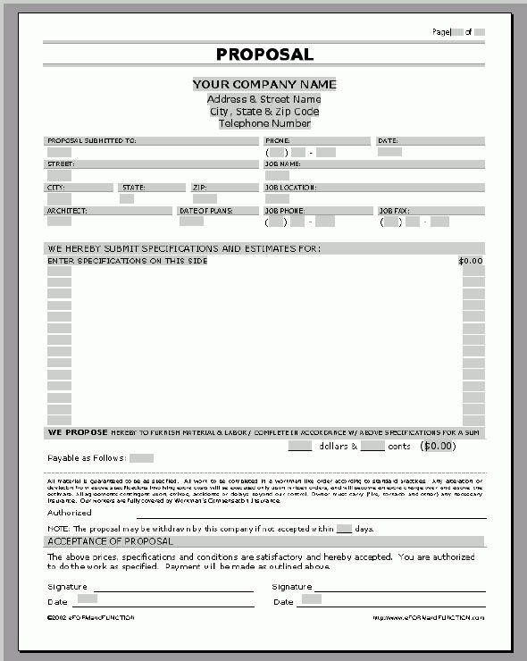 Microsoft word proposal template - Business Proposal Templated ...