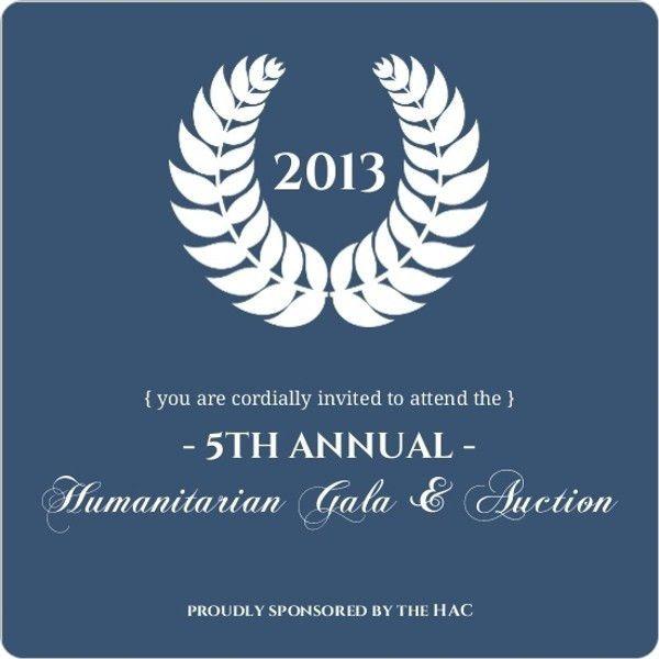 Fundraising Invitations & Fundraiser Invitation Template