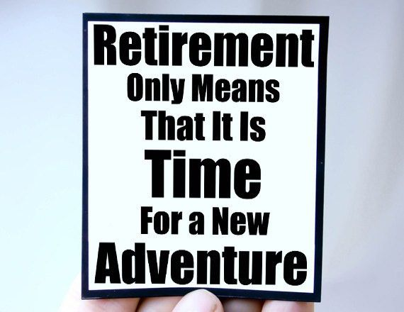 Retirement marks the end of working for someone else and the ...