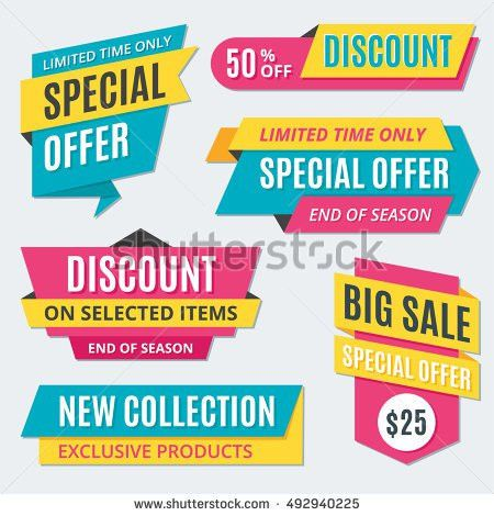 Promotion Banner Stock Images, Royalty-Free Images & Vectors ...